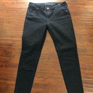 Old Navy Rockstar Jeans Super Skinny Low rise